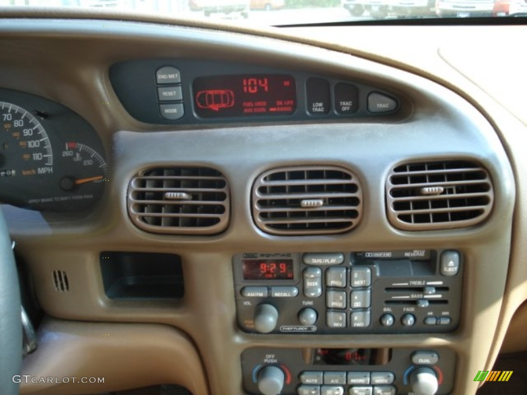 1999 Pontiac Grand Prix Gt Sedan Controls Photos