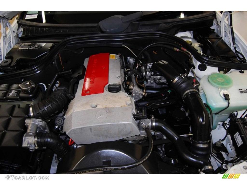 1999 mercedes benz c 230 kompressor sedan 2 3l for Mercedes benz kompressor engine