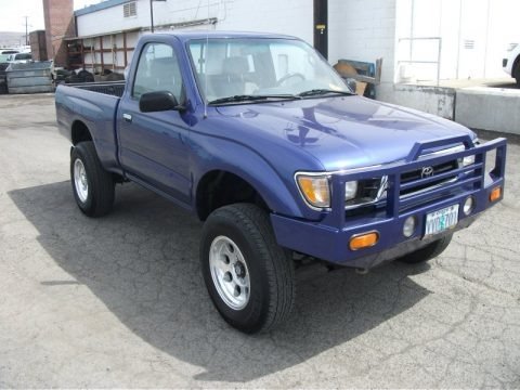 1995 toyota tacoma data info and specs. Black Bedroom Furniture Sets. Home Design Ideas