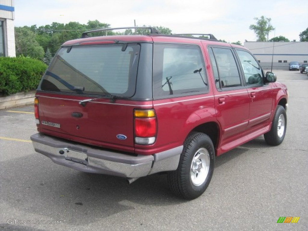 Toreador red metallic 1995 ford explorer xlt 4x4 exterior photo 51587194