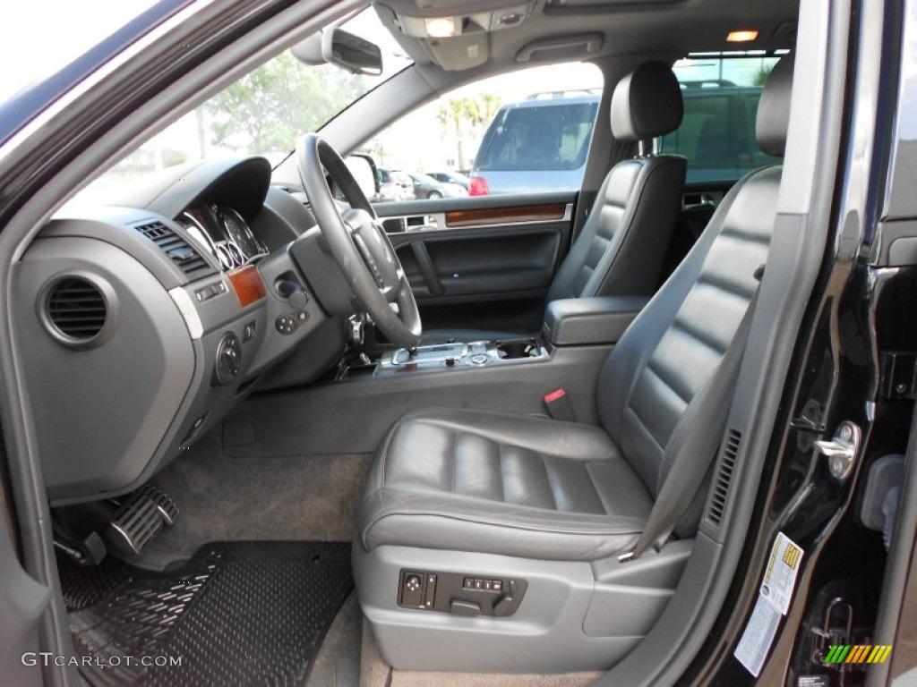 Anthracite Interior 2004 Volkswagen Touareg V8 Photo 51596746
