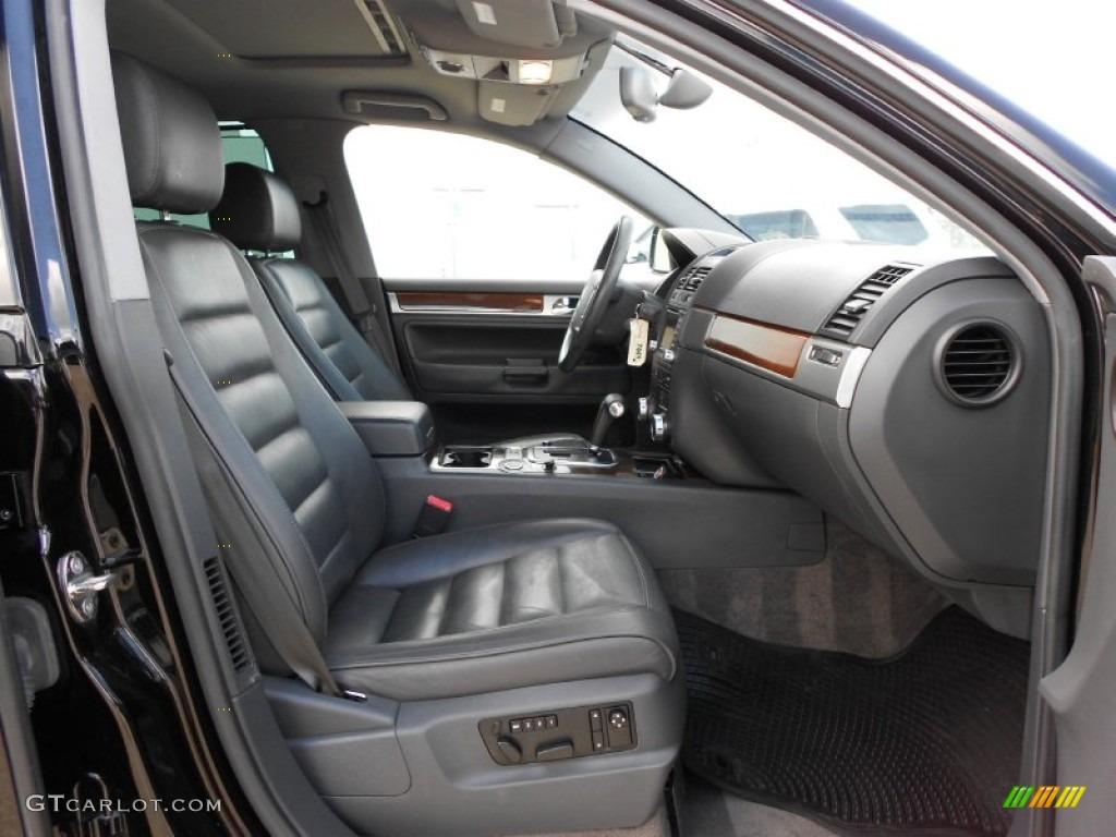 Anthracite Interior 2004 Volkswagen Touareg V8 Photo 51596794