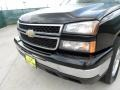 2002 Onyx Black Chevrolet Silverado 1500 LS Crew Cab  photo #11
