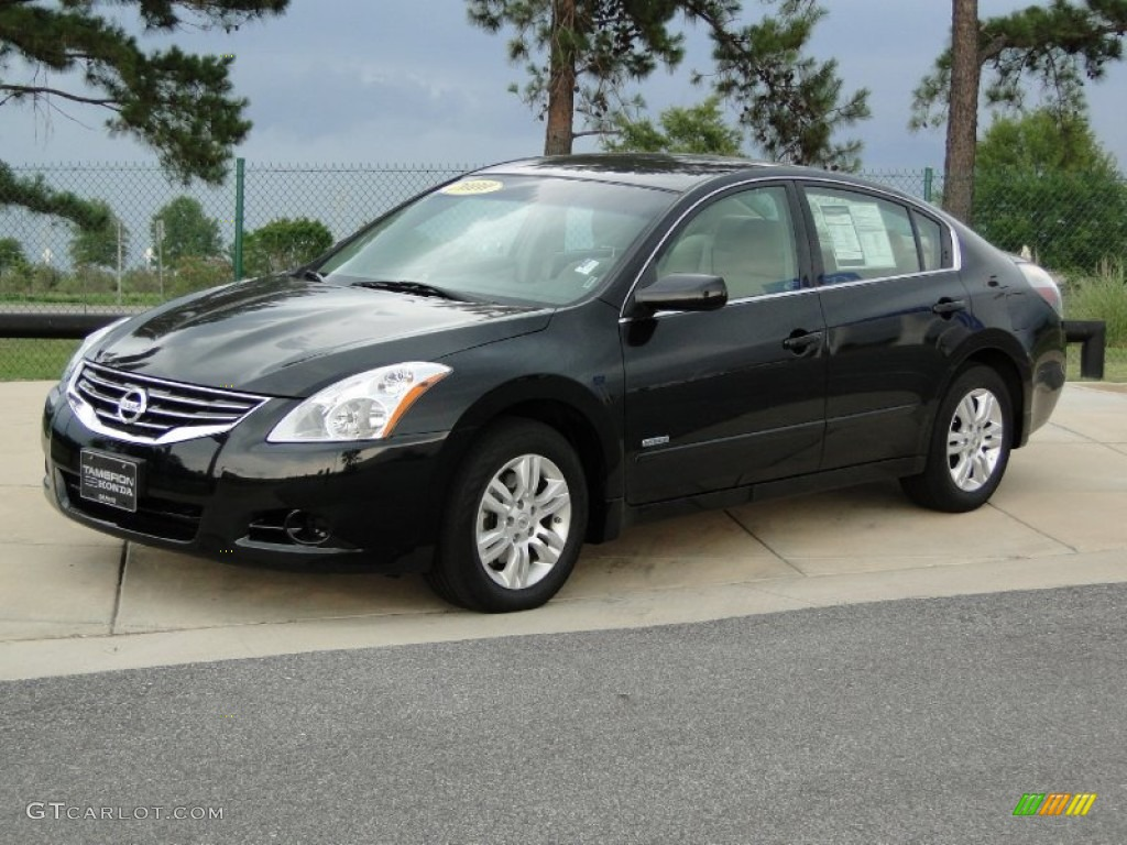 Super Black 2010 Nissan Altima Hybrid Exterior Photo 51604606 Gtcarlot Com
