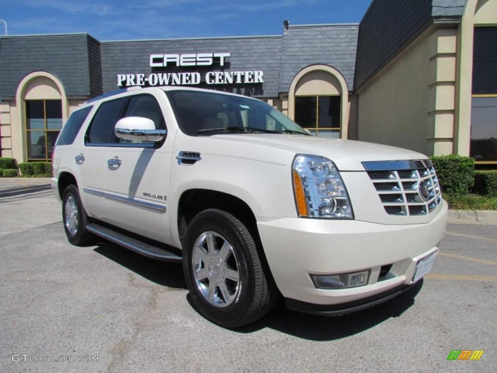 2007 white diamond cadillac escalade 51576241 car color galleries for Cadillac escalade interior colors