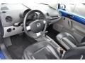 Black/Grey 2002 Volkswagen New Beetle Interiors