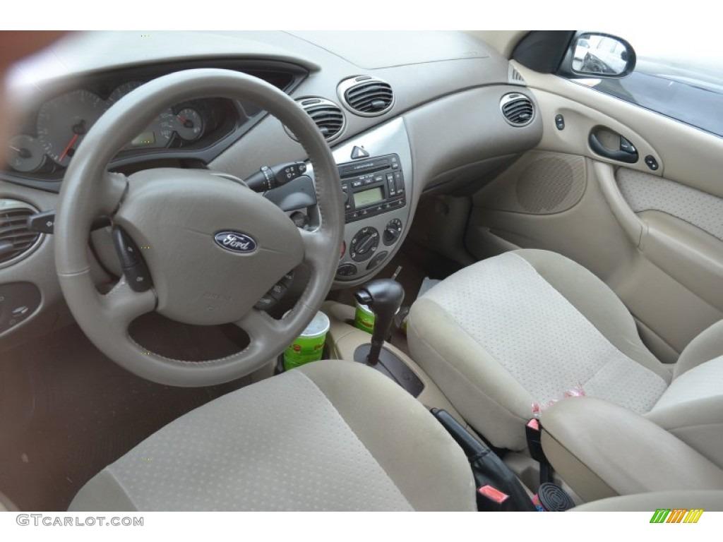Medium Graphite Interior 2003 Ford Focus Zts Sedan Photo