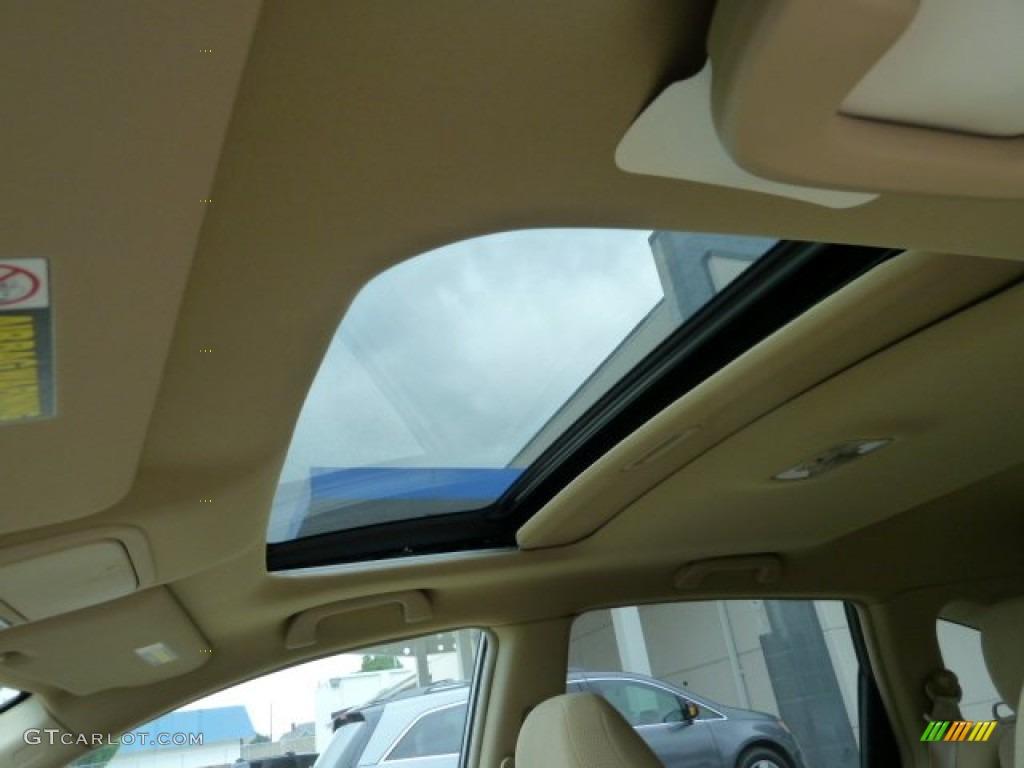 2011 CR-V EX 4WD - Urban Titanium Metallic / Ivory photo #15