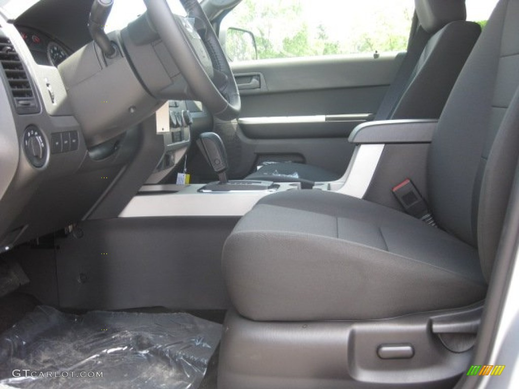charcoal black interior 2012 ford escape xlt photo. Black Bedroom Furniture Sets. Home Design Ideas