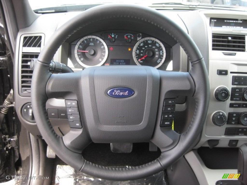 2012 Ford Escape Black Rims >> 2012 Ford Escape Limited Charcoal Black Steering Wheel Photo #51624652 | GTCarLot.com