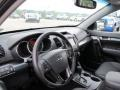 2011 Bright Silver Kia Sorento SX V6 AWD  photo #13