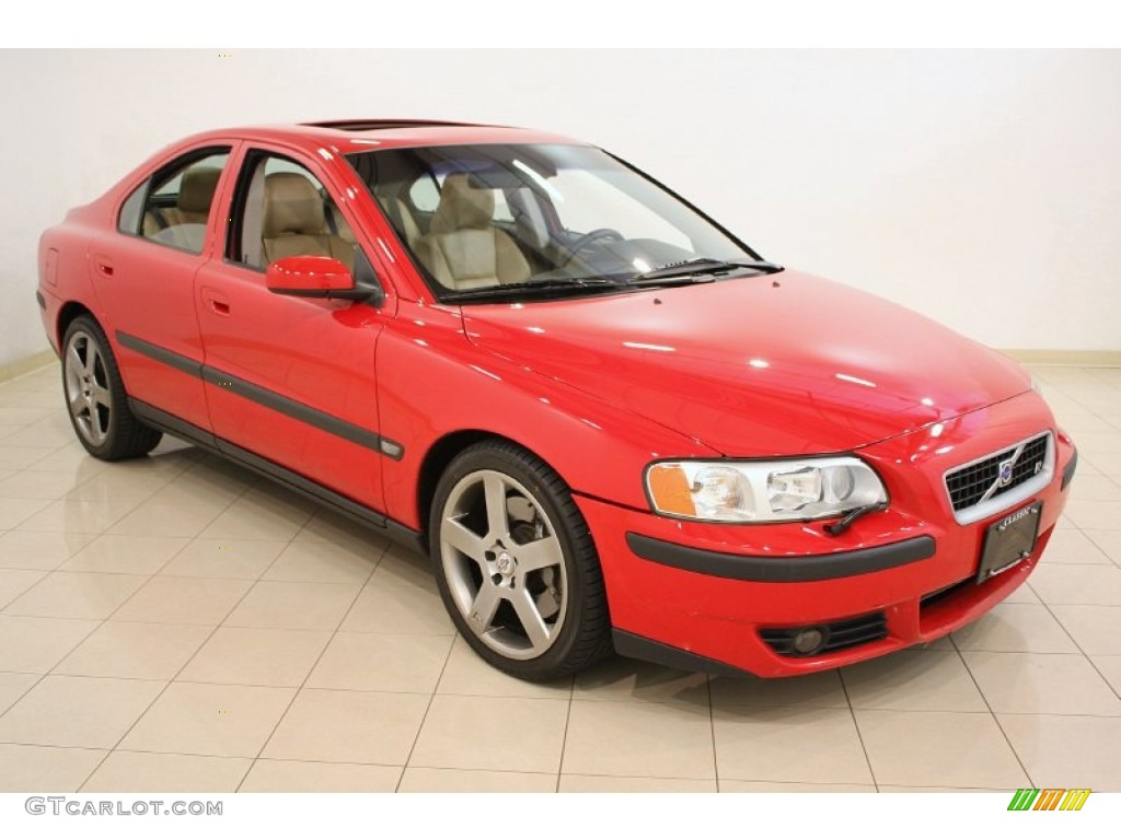 Passion Red 2004 Volvo S60 R Awd Exterior Photo 51639433 Gtcarlot Com