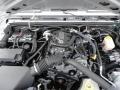 2011 Bright Silver Metallic Jeep Wrangler Sport 4x4  photo #34