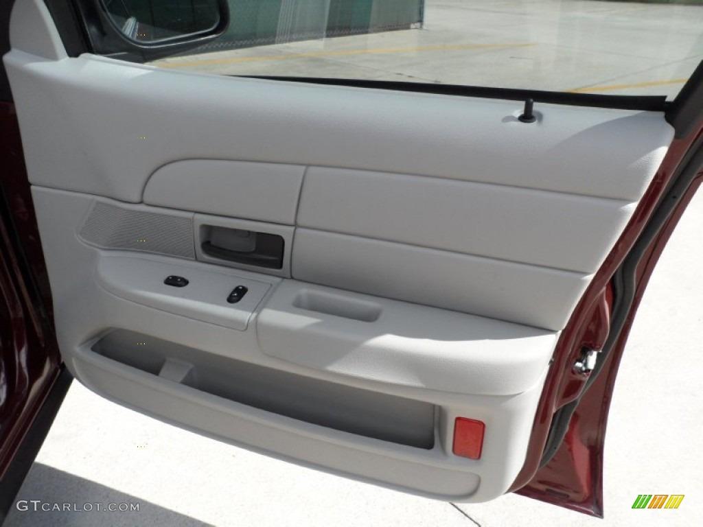 2005 Ford Crown Victoria Police Interceptor Light Flint Door Panel Photo 51651796