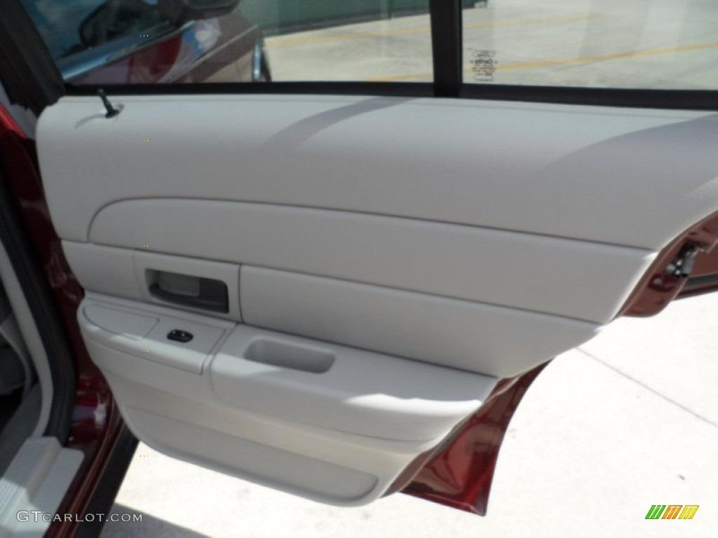 2005 Ford Crown Victoria Police Interceptor Light Flint Door Panel Photo 51651832
