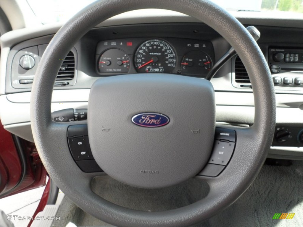 2005 Ford Crown Victoria Police Interceptor Steering Wheel Photos