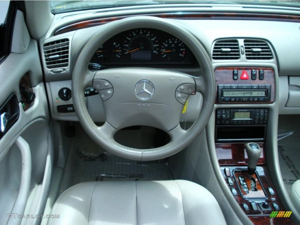 2000 mercedes-benz clk 320 cabriolet ash dashboard photo #51653050