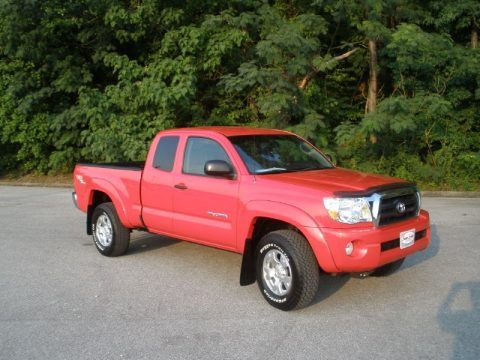 2008 toyota tacoma v6 prerunner trd access cab data info and specs. Black Bedroom Furniture Sets. Home Design Ideas