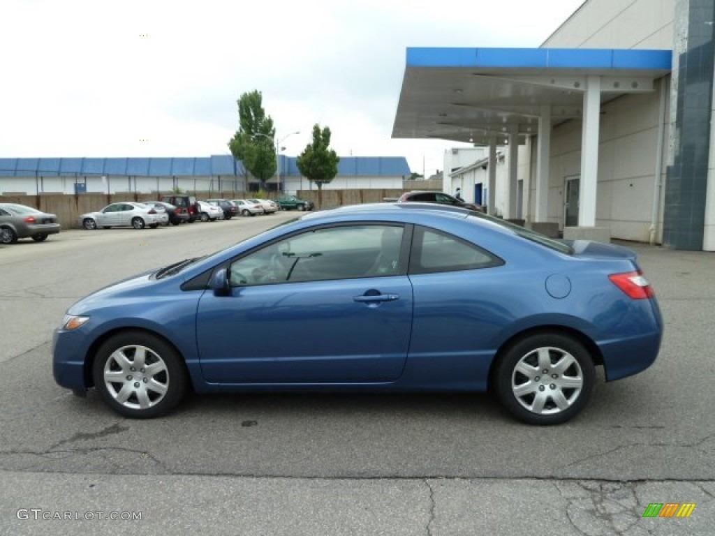 Atomic Blue Metallic 2011 Honda Civic Lx Coupe Exterior Photo 51668860 Gtcarlot Com