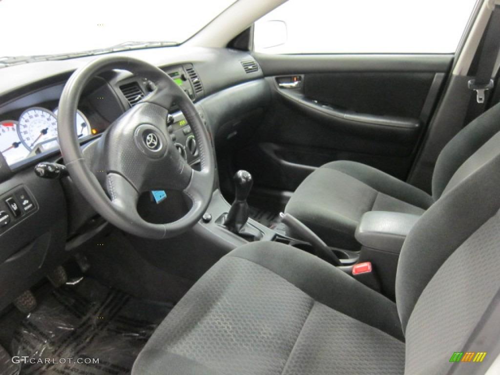 Dark Charcoal Interior 2006 Toyota Corolla S Photo 51672249