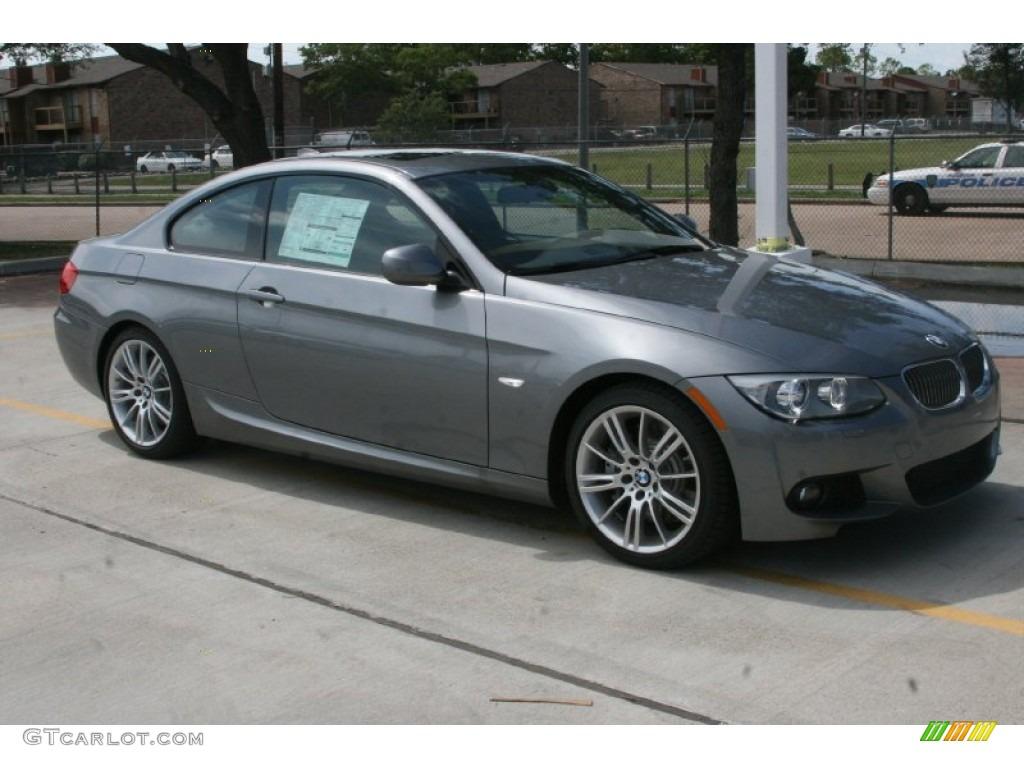 Space Gray Metallic 2011 BMW 3 Series 335i Coupe Exterior