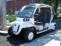 Crystal White 2011 GEM e e4 4 Passenger Electric Car
