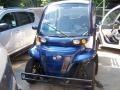 2009 e eS Short Back Utility Electric Car Ocean Sapphire Blue Metallic