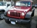 Deep Cherry Red 2011 Jeep Wrangler Unlimited Gallery