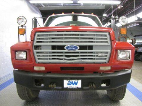 1988 Ford F700 Regular Cab Dump Truck Data, Info and Specs
