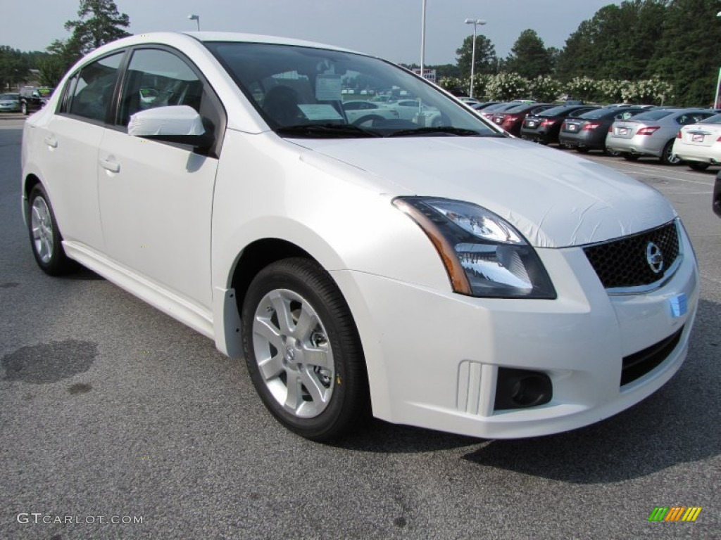 aspen white 2012 nissan sentra 2 0 sr exterior photo 51703174. Black Bedroom Furniture Sets. Home Design Ideas