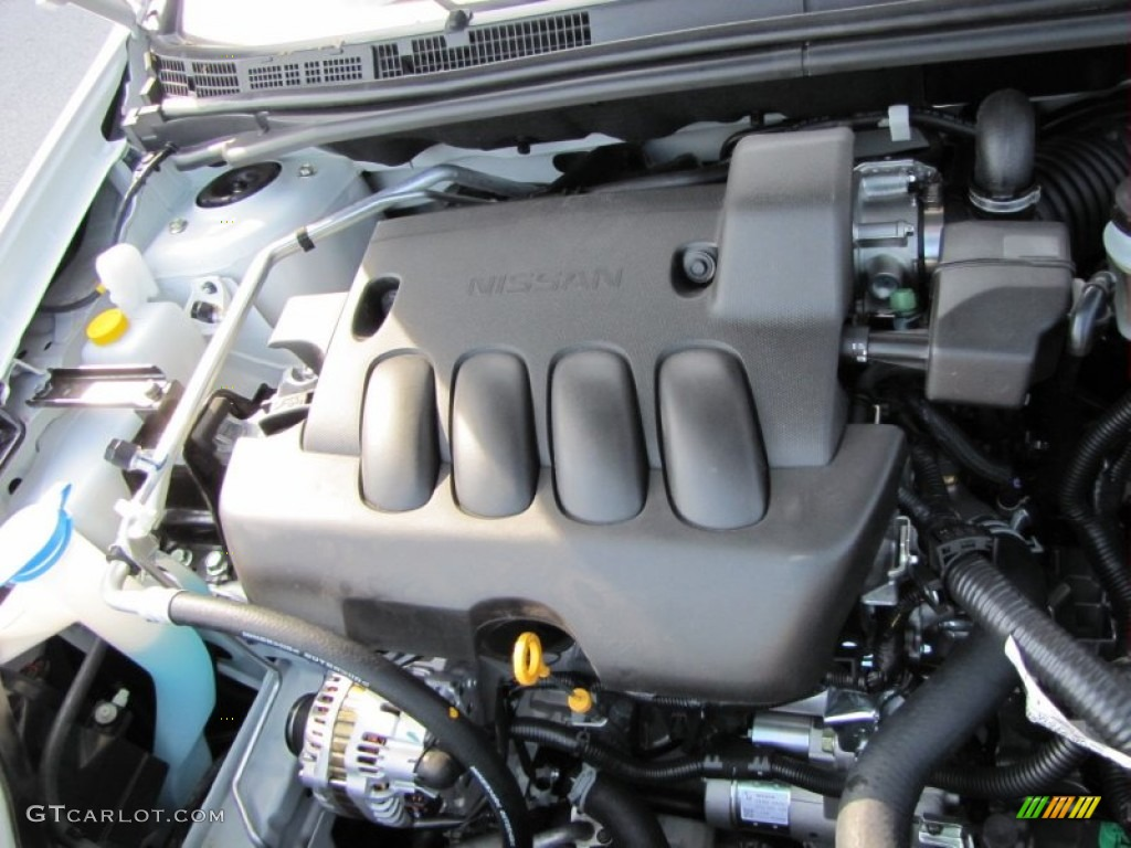 2012 Nissan Sentra 2.0 SR 2.0 Liter DOHC 16-Valve CVTCS 4 ...