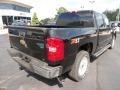 2011 Black Chevrolet Silverado 1500 LT Crew Cab 4x4  photo #7