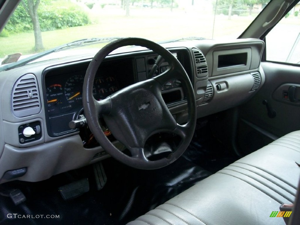 1998 Chevrolet C K 3500 C3500 Crew Cab Commercial Truck Gray Dashboard Photo 51707305