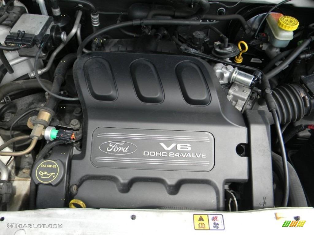 2001 Ford Escape Xls V6 Engine Photos