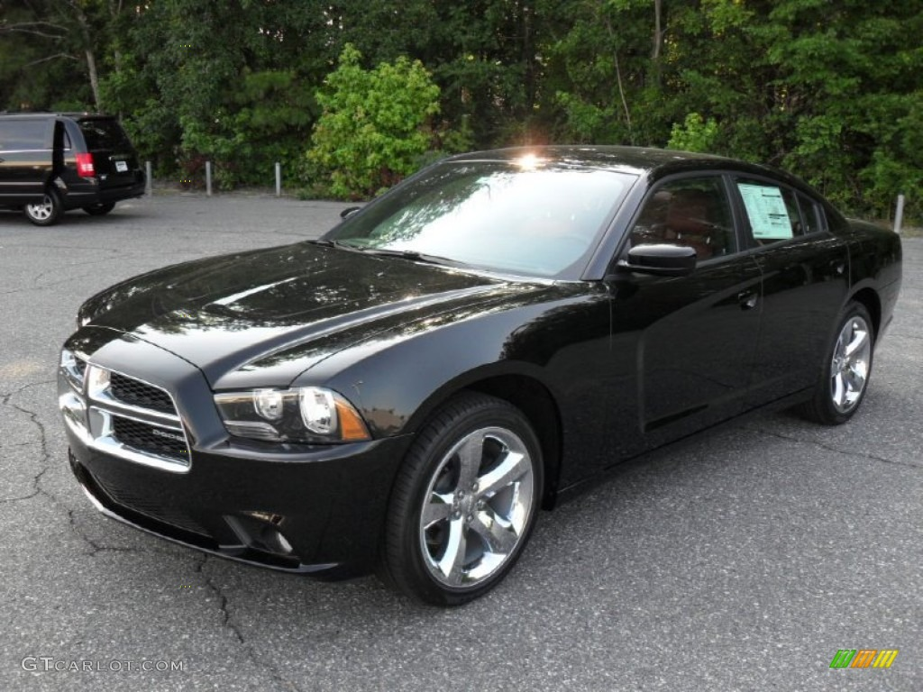 2011 Pitch Black Dodge Charger Rallye Plus #51670076 ...