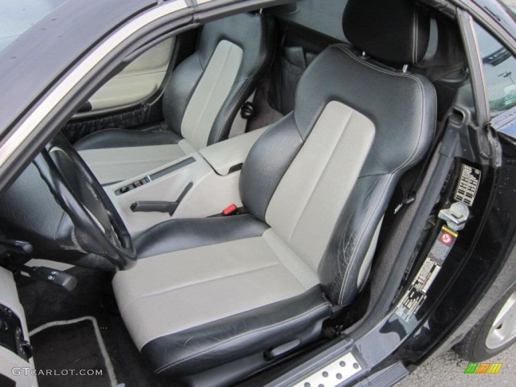oyster charcoal interior 2000 mercedes benz slk 230 kompressor roadster photo 51720649. Black Bedroom Furniture Sets. Home Design Ideas