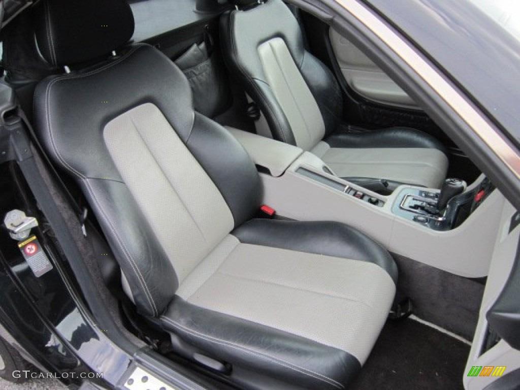 oyster charcoal interior 2000 mercedes benz slk 230 kompressor roadster photo 51720673. Black Bedroom Furniture Sets. Home Design Ideas