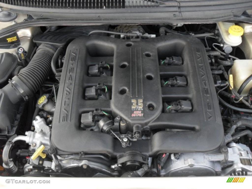 2001 Chrysler 300 M Sedan 3 5 Liter Sohc 24 Valve V6