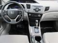 Dashboard of 2012 Civic LX Sedan