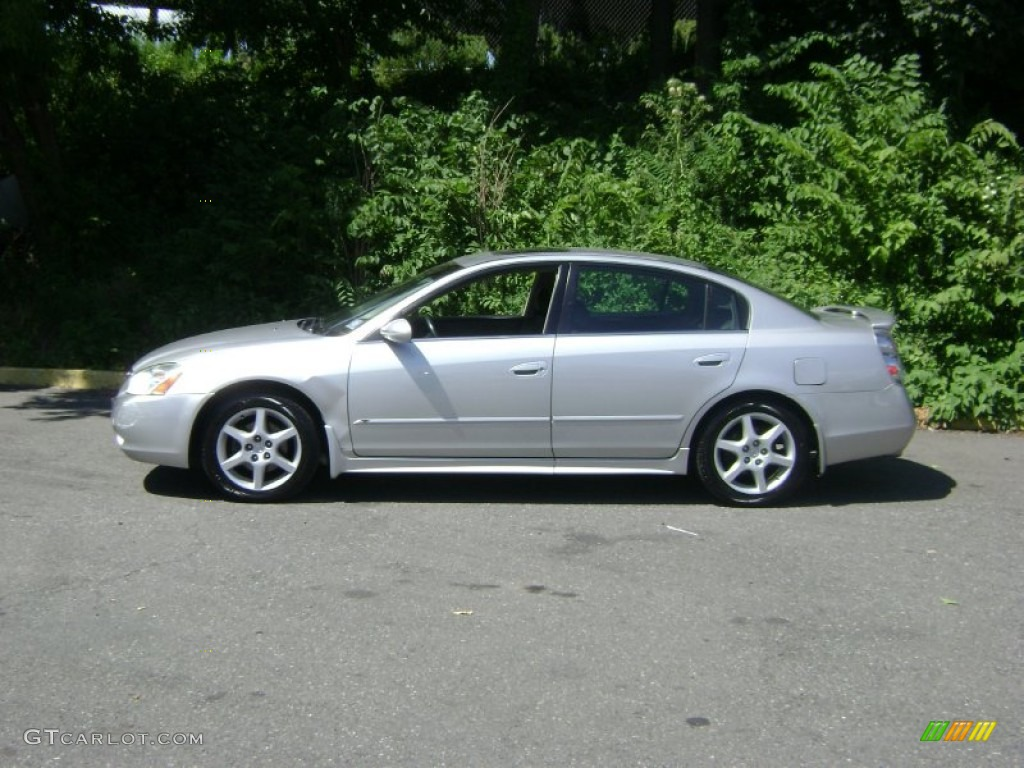 Sheer silver metallic 2002 nissan altima 3 5 se exterior photo 51742885 gtcarlot com