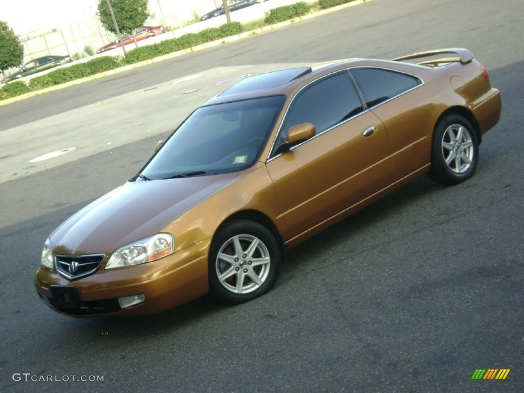 sundance gold metallic 2001 acura cl 3 2 type s exterior. Black Bedroom Furniture Sets. Home Design Ideas