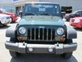 2011 Natural Green Pearl Jeep Wrangler Sport 4x4  photo #16