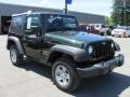 2011 Natural Green Pearl Jeep Wrangler Sport 4x4  photo #17