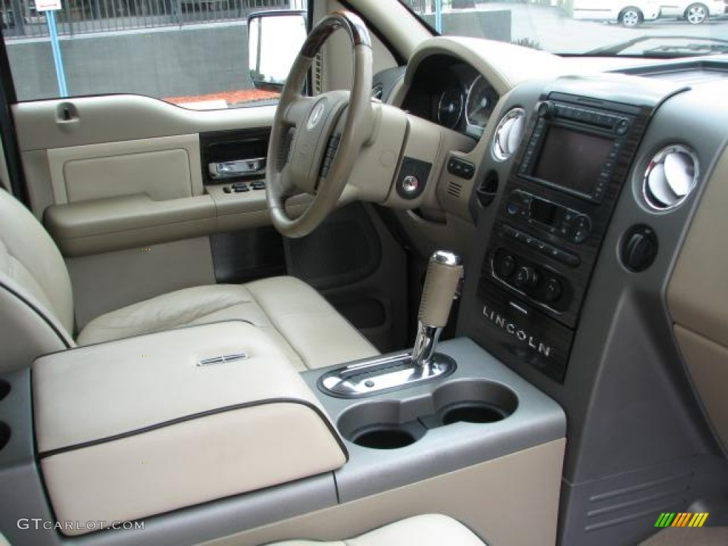 Light Parchment Espresso Interior 2007 Lincoln Mark Lt Supercrew