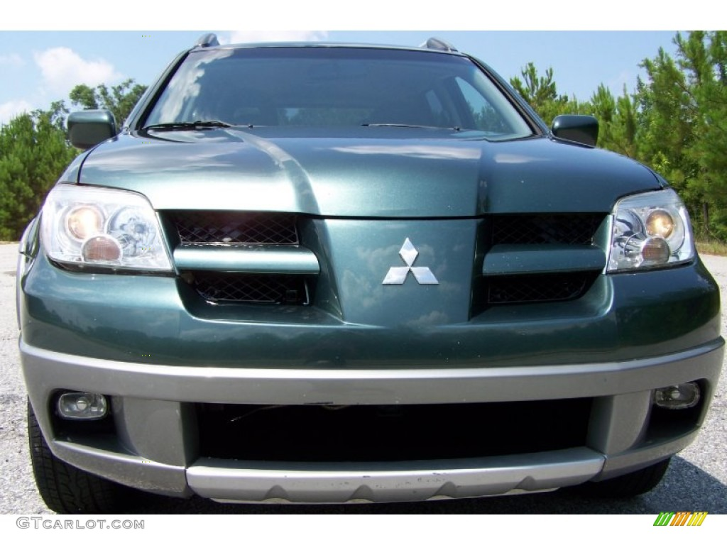 Picture Mitsubishi Outlander 2003 Color Blue