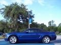 2007 Vista Blue Metallic Ford Mustang GT Premium Convertible  photo #2