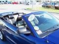 2007 Vista Blue Metallic Ford Mustang GT Premium Convertible  photo #13