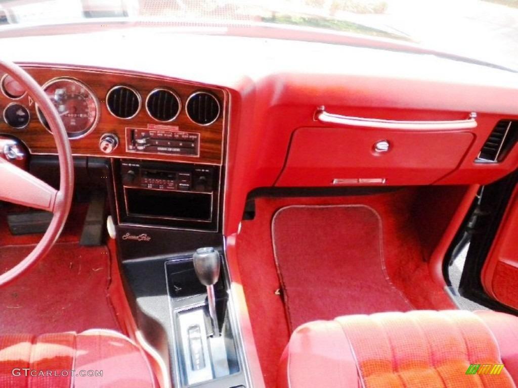 1976 Pontiac Grand Prix Standard Grand Prix Model Red
