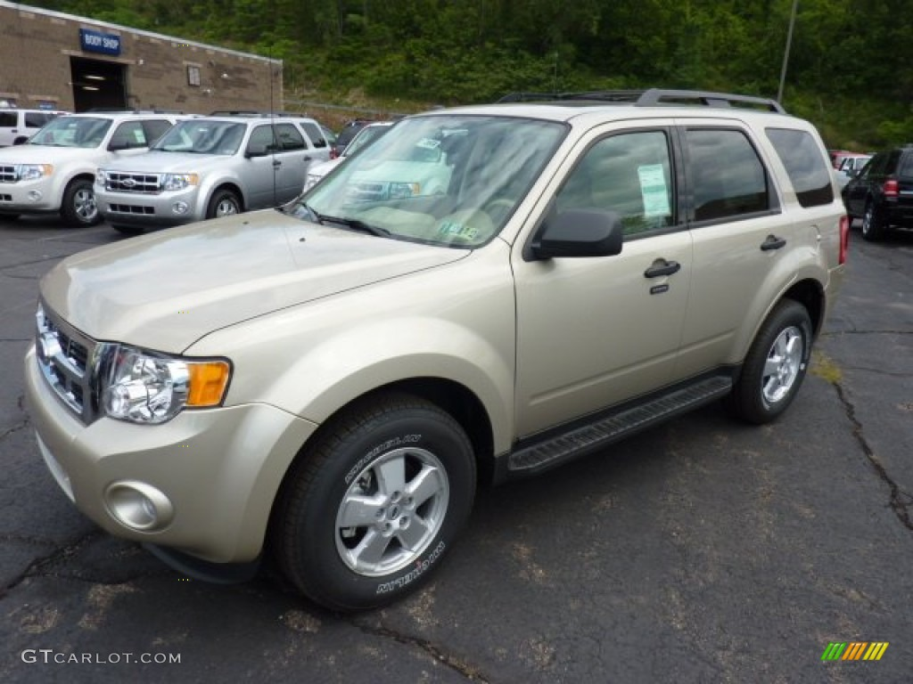 2008 Ford Escape Xls Gold Leaf Metallic 2012 Ford Escape XLT V6 4WD Exterior Photo ...