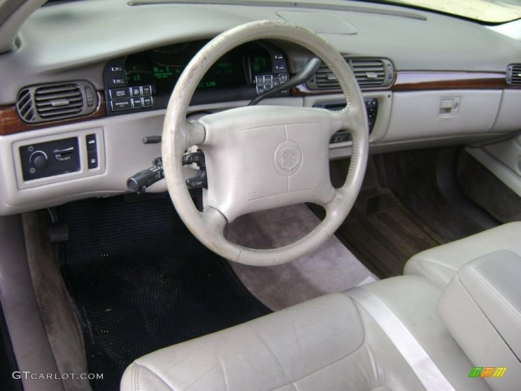 Cappuccino Cream Interior 1998 Cadillac Deville Sedan Photo 51794576